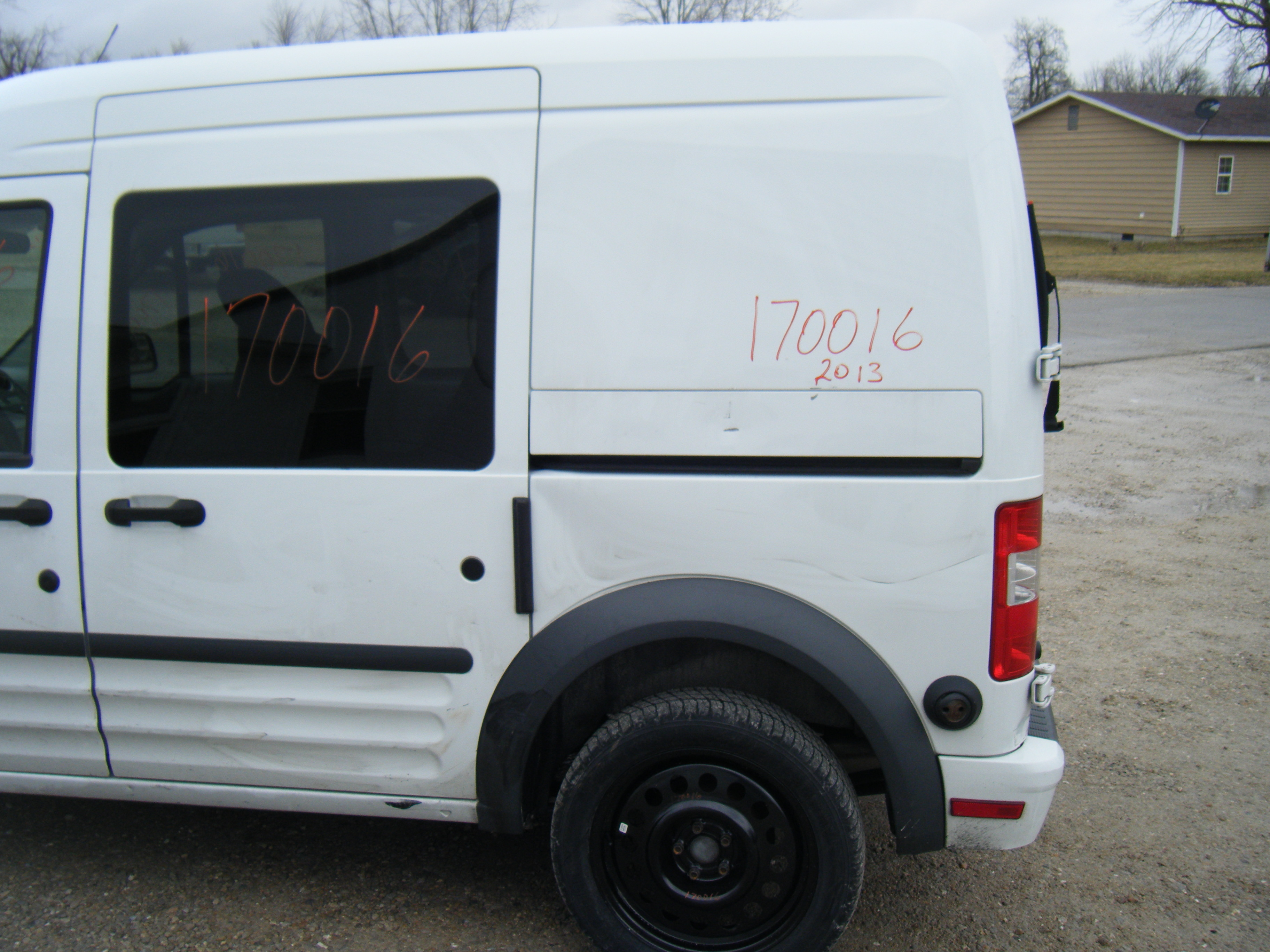 2013 Ford Transit Connect Williams Auto Parts